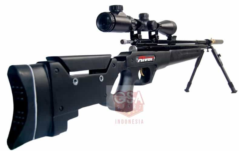 Senapan Sharp River AWP Black