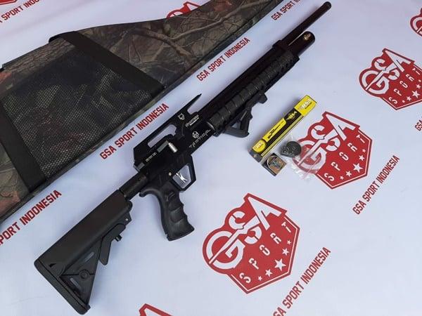 senapan pcp predator raccoon od 38